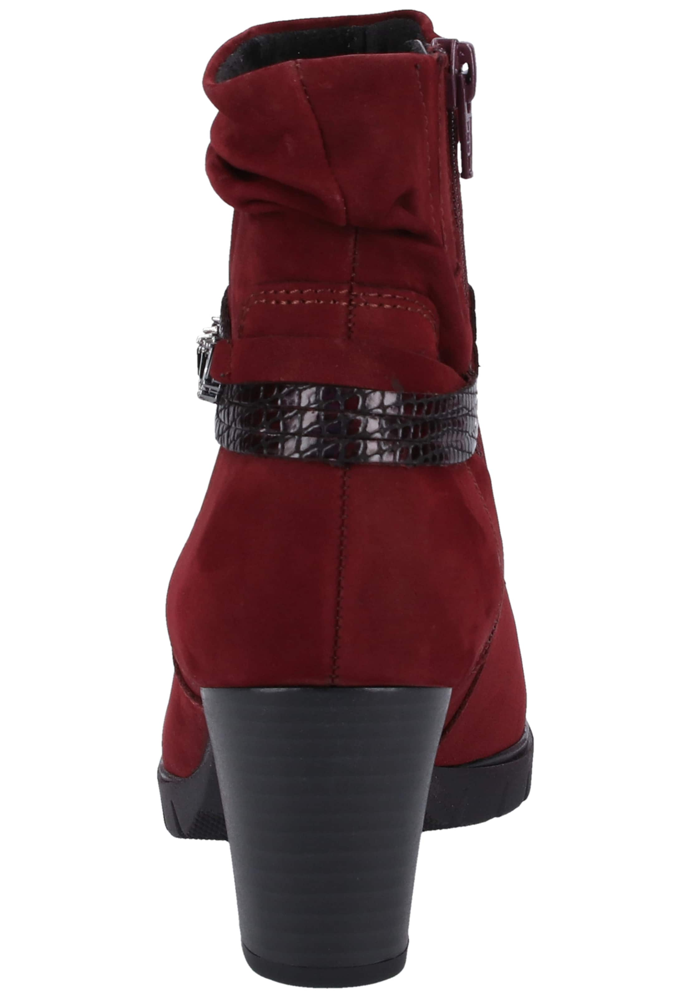 Gabor Rouge Bottines En Foncé Gabor Rouge En Bottines lcTFJK1