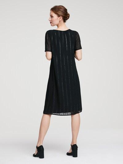 heine Sukienka koktajlowa w kolorze czarnym: Widok od tyłu