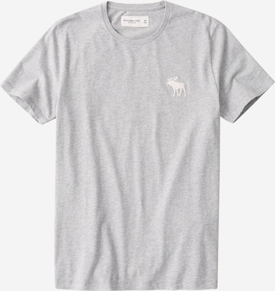 Abercrombie & Fitch Shirt 'EXPLODED CREW' in grau, Produktansicht