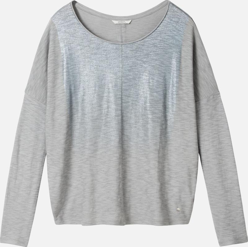 Sandwich Shirt in hellblau   graumeliert  Großer Rabatt Rabatt Rabatt 90ad74
