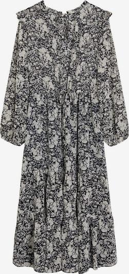 MANGO Robe-chemise en blanc chiné, Vue avec produit