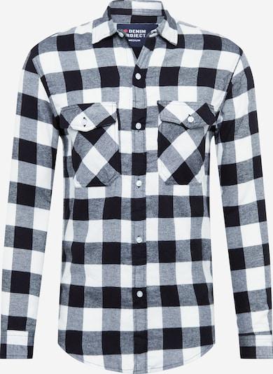 Denim Project Košile 'SAMI' - černá / bílá, Produkt