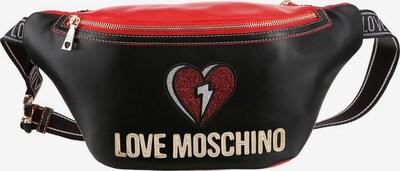 Love Moschino Bauchtasche in schwarz, Produktansicht