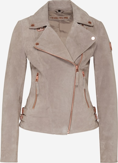 FREAKY NATION Between-season jacket 'Taxi Driver' in Beige / Rose gold, Item view