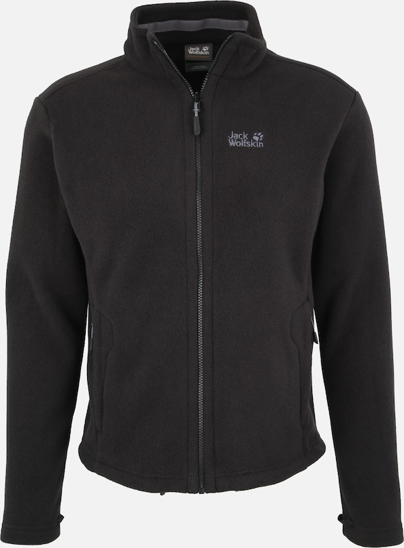 JACK WOLFSKIN Funktionele fleece-jas 'Moonrise' in de kleur Zwart, Productweergave