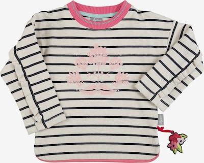 SIGIKID Langarmshirt in anthrazit / hellgrau / pink, Produktansicht