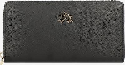 La Martina Valentina Geldbörse 19 cm in schwarz, Produktansicht