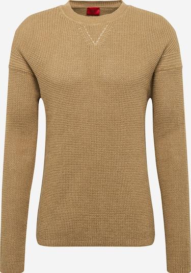 HUGO Pullover 'Silan' in beige, Produktansicht