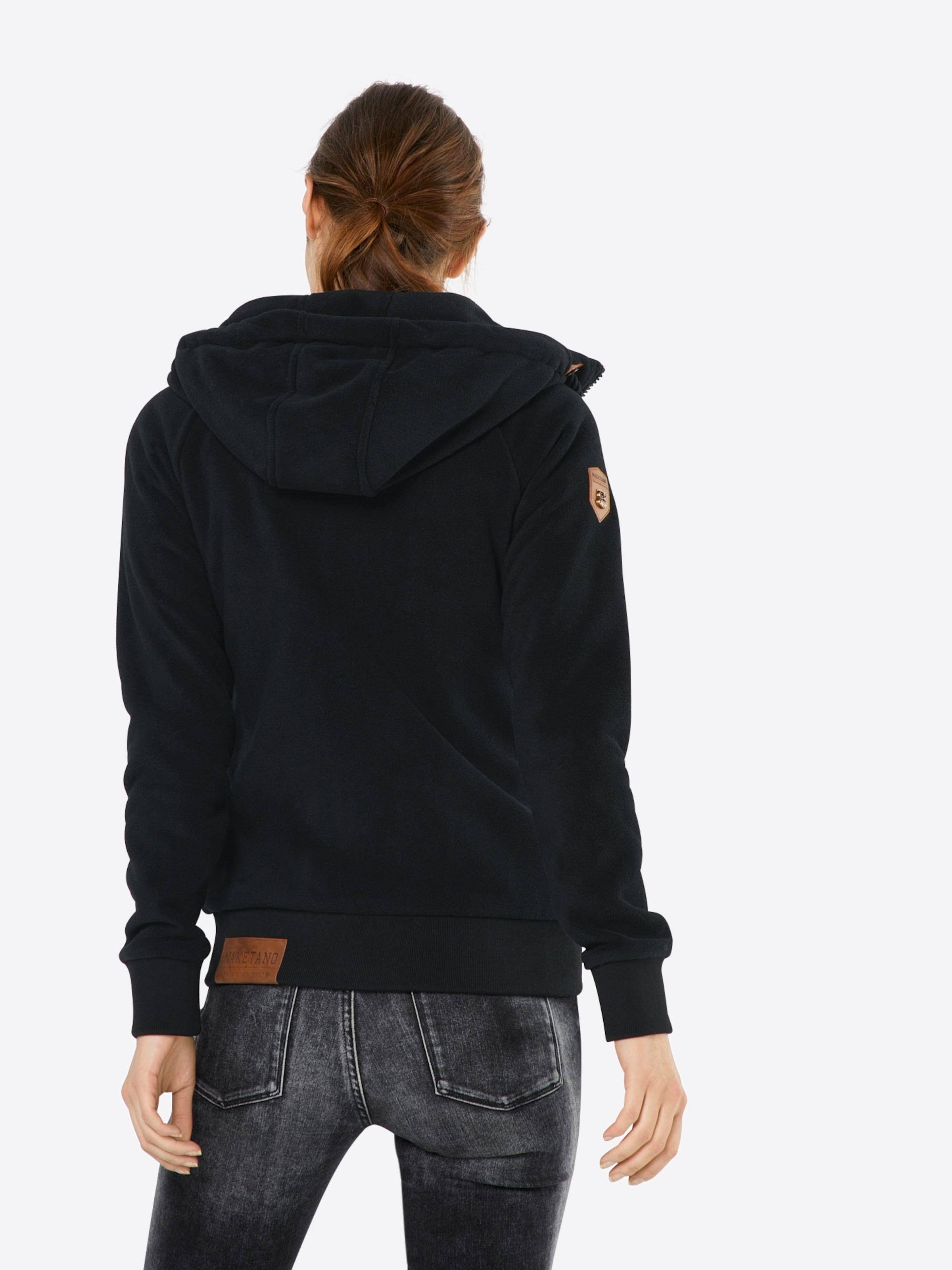 Meroni' Sweatshirtjacke naketano aus Sweatshirtjacke Sweatshirtjacke Fleece 'Gigi aus Fleece 'Gigi naketano aus Fleece Meroni' naketano H4Bqff