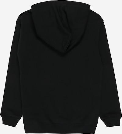 Calvin Klein Jeans Sweatshirt 'MIRROR MONOGRAM' in schwarz / weiß: Rückansicht