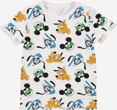 NAME IT Shirt 'MICKEY FRANCIS' in de kleur Gemengde kleuren / Wit: Vooraanzicht