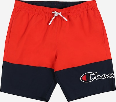 Champion Authentic Athletic Apparel Badeshorts in rot, Produktansicht