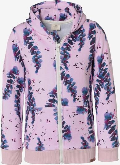 Walkiddy Sweatjacke , Organic Cotton in rosa, Produktansicht
