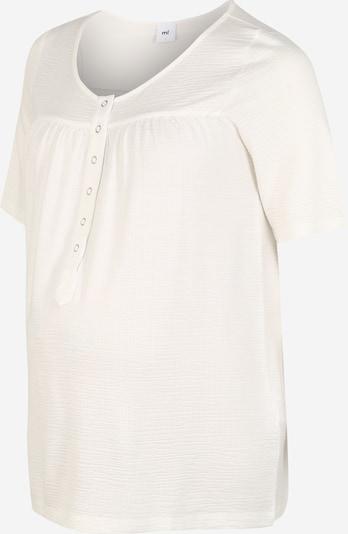 MAMALICIOUS Blouse 'MLFIA LIA 2/4 JERSEY TOP 2F A.' in de kleur Wit, Productweergave