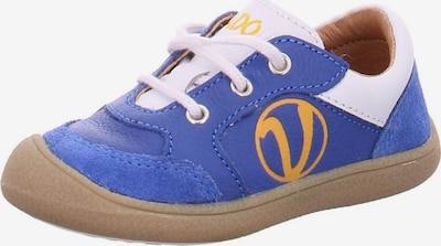 Vado Lauflernschuh in blau / goldgelb / weiß, Produktansicht