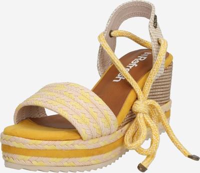Refresh Sandalen '69682' in sand / gelb, Produktansicht