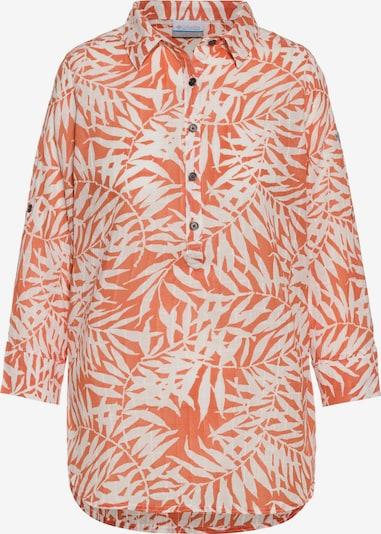COLUMBIA Tunika 'Summer Ease Popover' in koralle / weiß, Produktansicht
