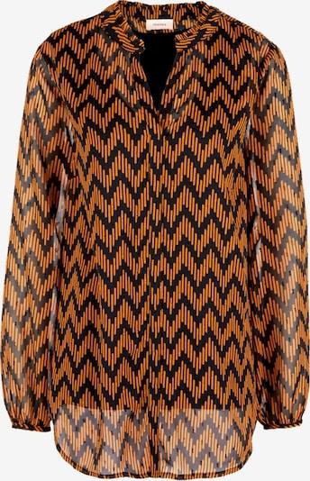 TRIANGLE Bluse in orange / schwarz, Produktansicht
