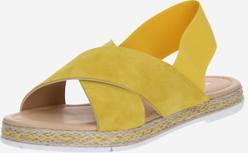 Sandales 'Nadja' ABOUT YOU en jaune