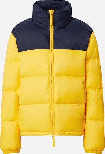 Žieminė striukė iš LACOSTE , spalva - tamsiai mėlyna / geltona, Prekių apžvalga