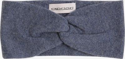 apriori Stirnband in taubenblau, Produktansicht