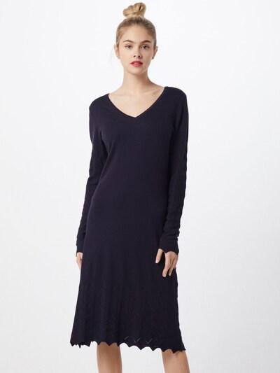SAINT TROPEZ Strickkleid in schwarz, Modelansicht