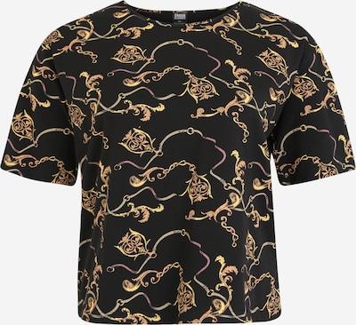 Urban Classics Curvy Tričko - zlatá / čierna, Produkt