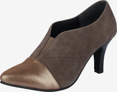 ANDREA CONTI Hochfrontpumps in gold / taupe, Produktansicht
