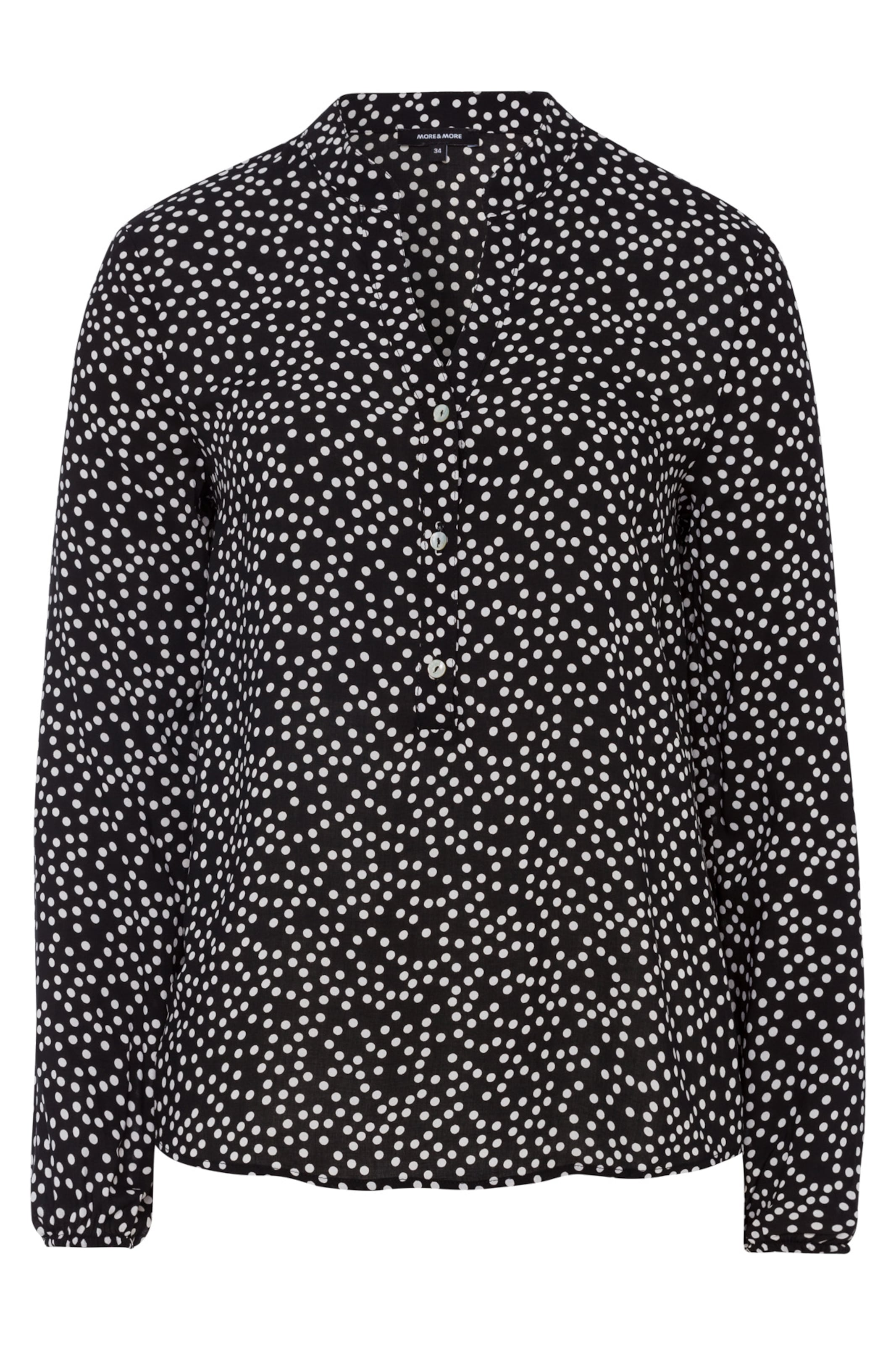In Moreamp; Moreamp; SchwarzWeiß Bluse Bluse 7gYbfy6