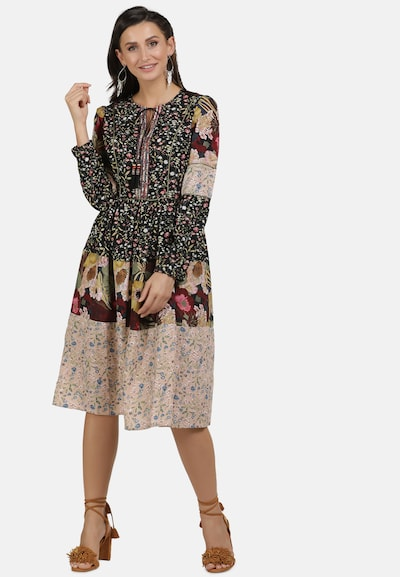 Usha Kleid in mischfarben, Modelansicht