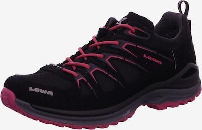 LOWA Outdoorschuhe in pink / schwarz, Produktansicht