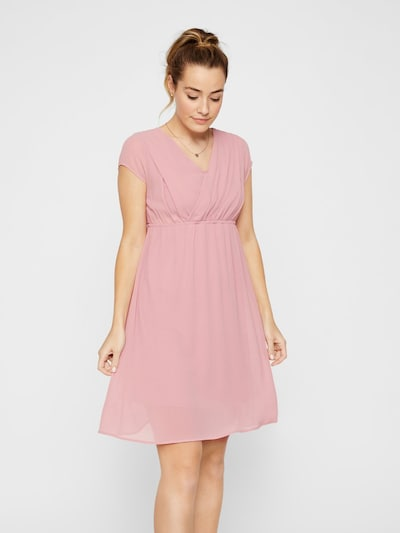 MAMALICIOUS Sommerkleid in rosa: Frontalansicht