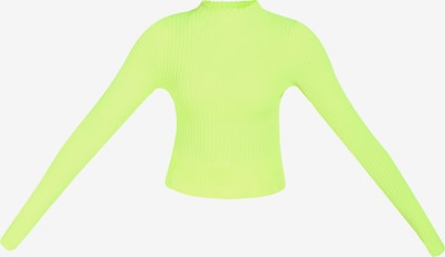myMo ATHLSR Pull-over de sport en vert / vert fluo, Vue avec produit