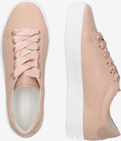Kennel & Schmenger Sneakers laag 'Up' in de kleur Nude: Zijaanzicht