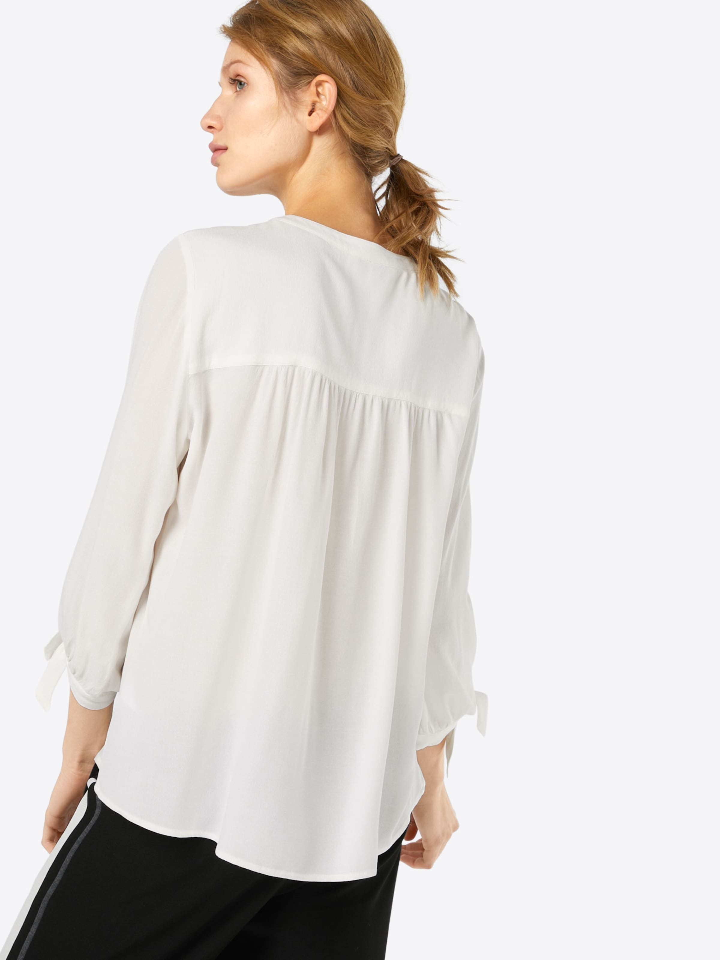 TOM TAILOR DENIM Bluse 'feminine tunic with bow detail' Gutes Angebot Rabatte Günstiger Preis Günstig Kaufen Neueste YHZ7d6