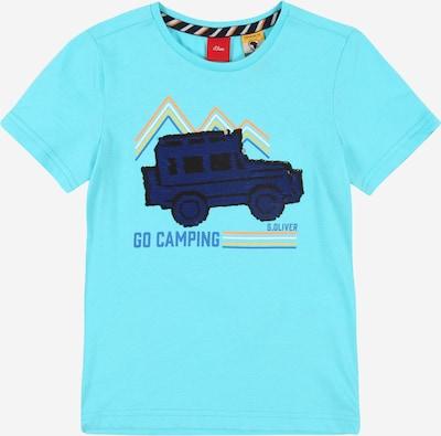 s.Oliver Shirt in hellblau / mischfarben, Produktansicht