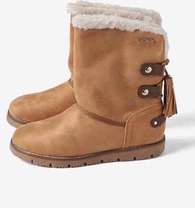 TOM TAILOR Snowboots in hellbraun, Produktansicht