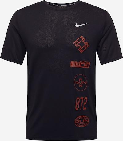 NIKE Koszulka funkcyjna w kolorze ognisto-czerwony / czarnym, Podgląd produktu