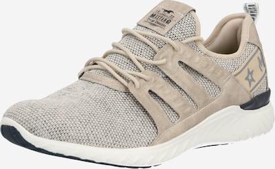 MUSTANG Sneaker in beige / hellbraun, Produktansicht