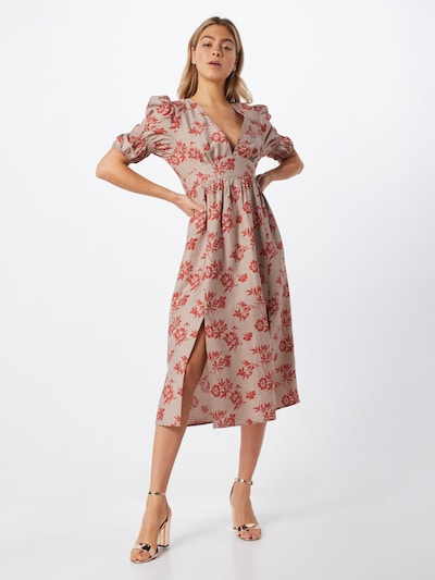 GLAMOROUS Kleid in rot, Modelansicht