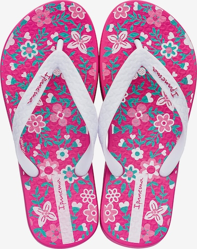 Ipanema Zehentrenner in pink / weiß, Produktansicht