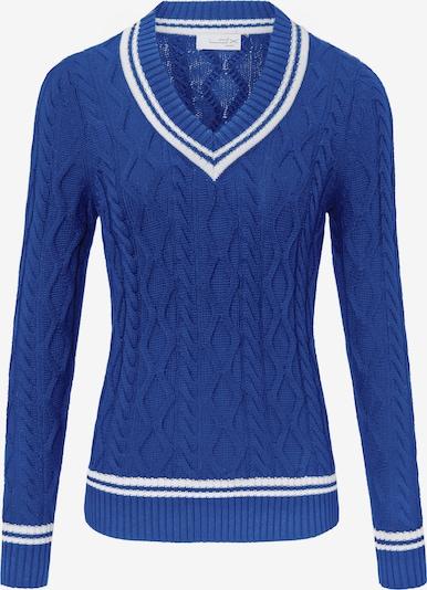 Looxent Trui in de kleur Blauw / Wit, Productweergave