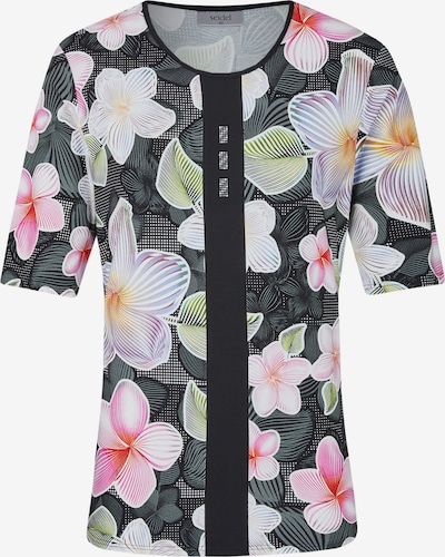 Seidel Moden Shirt in lila / pink / schwarz, Produktansicht