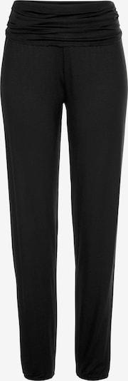 BUFFALO Pidžamas bikses pieejami melns: Priekšējais skats