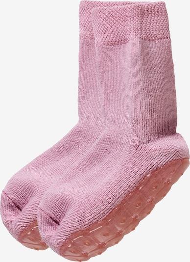 EWERS Haussocken mit Vollsohle in rosa, Produktansicht