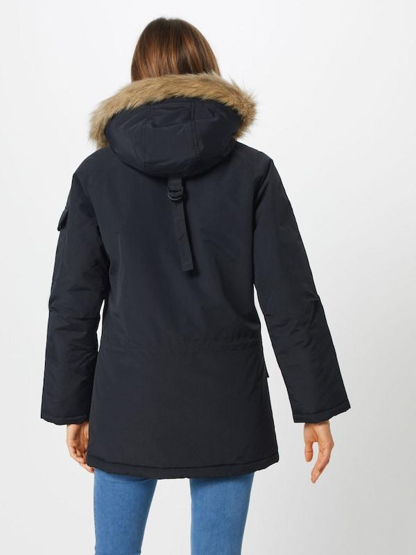 Carhartt D'hiver Noir Wip 'anchorage' Parka En 92IWDEH