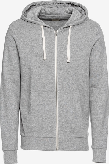 JACK & JONES Sweatjacke in graumeliert, Produktansicht