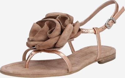 Kennel & Schmenger Japonke 'Elle' | nude / rožnato zlata barva, Prikaz izdelka