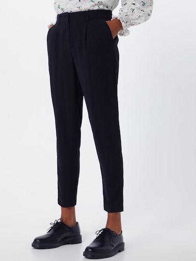 fekete MOSS COPENHAGEN Ráncos nadrág 'Zina', Modell nézet
