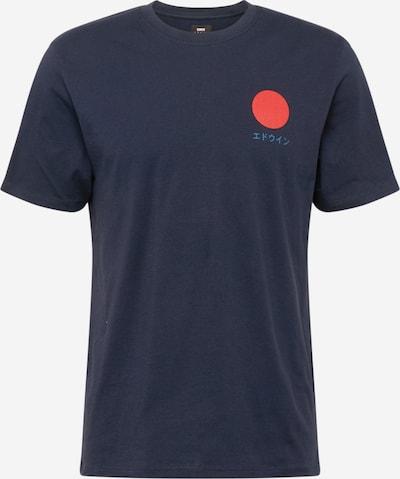 EDWIN Särk 'Japanese Sun' sinine / meresinine / punane, Tootevaade